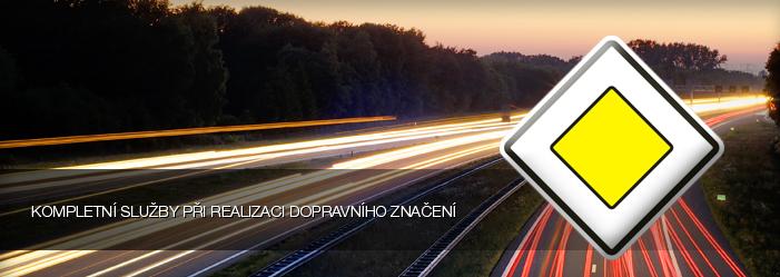 svislé a vodorovné dopravní značení